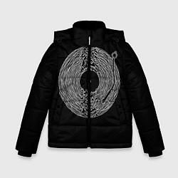 Куртка зимняя для мальчика JOY DIVISION цвета 3D-черный — фото 1