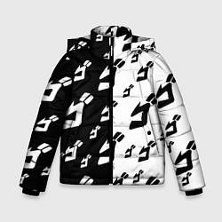 Куртка зимняя для мальчика JoJo Bizarre Adventure цвета 3D-черный — фото 1