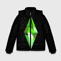 Куртка зимняя для мальчика The Sims Plumbob цвета 3D-черный — фото 1