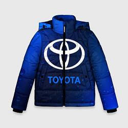 Куртка зимняя для мальчика TOYOTA ТОЙОТА цвета 3D-черный — фото 1
