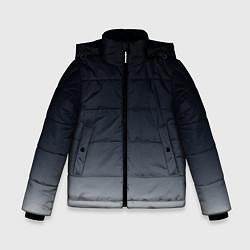 Куртка зимняя для мальчика Градиент цвета 3D-черный — фото 1
