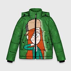 Куртка зимняя для мальчика Венди Кордрой цвета 3D-черный — фото 1