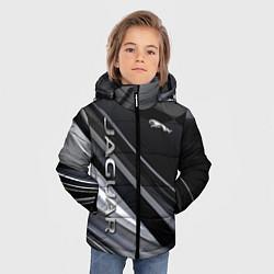 Куртка зимняя для мальчика Jaguar Ягуар цвета 3D-черный — фото 2