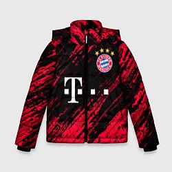 Куртка зимняя для мальчика BAYERN MUNCHEN БАВАРИЯ цвета 3D-черный — фото 1