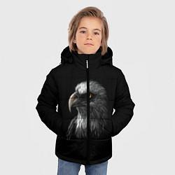Куртка зимняя для мальчика Орлан цвета 3D-черный — фото 2