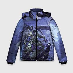 Куртка зимняя для мальчика Darksiders 2 цвета 3D-черный — фото 1