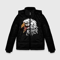 Куртка зимняя для мальчика Орёл цвета 3D-черный — фото 1