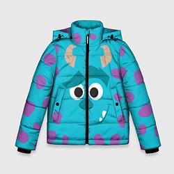Куртка зимняя для мальчика Джеймс Салливан цвета 3D-черный — фото 1
