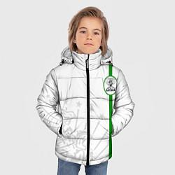 Куртка зимняя для мальчика Адыгея моя цвета 3D-черный — фото 2