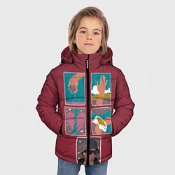 Куртка зимняя для мальчика SLAVA MARLOW Снова я напиваюсь - фото 2