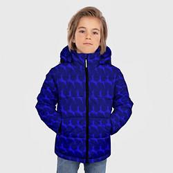 Куртка зимняя для мальчика Олени, deer цвета 3D-черный — фото 2