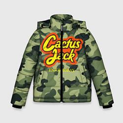 Куртка зимняя для мальчика Cactus Jack цвета 3D-черный — фото 1