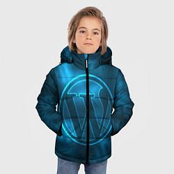 Куртка зимняя для мальчика Вордпресс цвета 3D-черный — фото 2