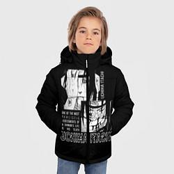 Куртка зимняя для мальчика Uchiha Itachi цвета 3D-черный — фото 2