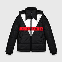Куртка зимняя для мальчика Hitman III цвета 3D-черный — фото 1
