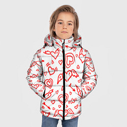 Куртка зимняя для мальчика Love flight цвета 3D-черный — фото 2