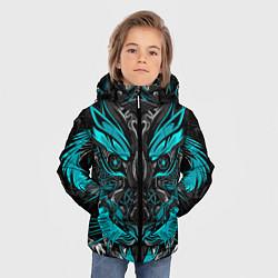 Куртка зимняя для мальчика Абстракция тигр - фото 2