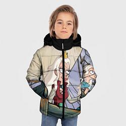 Куртка зимняя для мальчика Дагмар цвета 3D-черный — фото 2