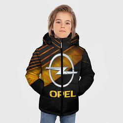 Куртка зимняя для мальчика OPEL ОПЕЛЬ цвета 3D-черный — фото 2