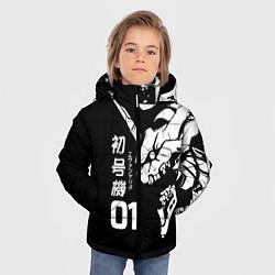 Детская зимняя куртка для мальчика с принтом Eves Rage, цвет: 3D-черный, артикул: 10290232906063 — фото 2