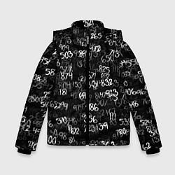 Куртка зимняя для мальчика Минус семь цвета 3D-черный — фото 1
