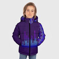 Куртка зимняя для мальчика Эквалайзер цвета 3D-черный — фото 2