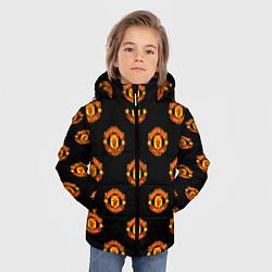 Куртка зимняя для мальчика Manchester United Pattern - фото 2