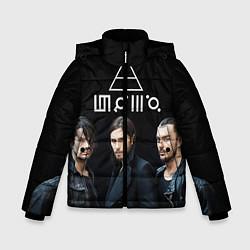 Детская зимняя куртка для мальчика с принтом 30 seconds to mars, цвет: 3D-черный, артикул: 10063908806063 — фото 1
