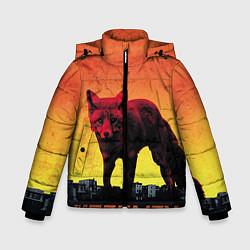 Куртка зимняя для мальчика The Prodigy: Red Fox цвета 3D-черный — фото 1