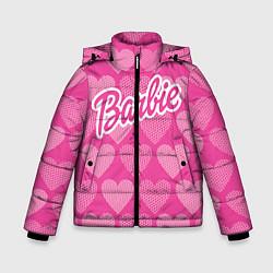 Куртка зимняя для мальчика Barbie цвета 3D-черный — фото 1