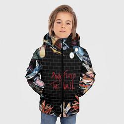 Куртка зимняя для мальчика Pink Floyd: The Wall цвета 3D-черный — фото 2