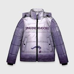 Куртка зимняя для мальчика Imagine Dragons: Silence цвета 3D-черный — фото 1