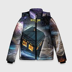 Куртка зимняя для мальчика Police Box цвета 3D-черный — фото 1
