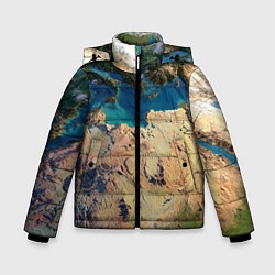 Куртка зимняя для мальчика Земля цвета 3D-черный — фото 1