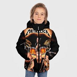 Куртка зимняя для мальчика Metallica Band - фото 2