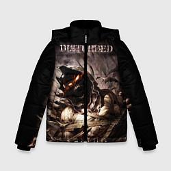 Куртка зимняя для мальчика Disturbed цвета 3D-черный — фото 1