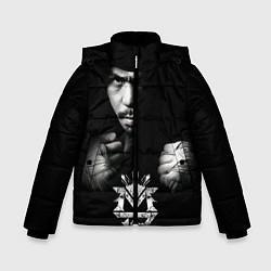 Куртка зимняя для мальчика Менни Пакьяо - фото 1