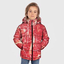 Куртка зимняя для мальчика Мясо цвета 3D-черный — фото 2