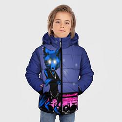 Куртка зимняя для мальчика The Prodigy: Night Fox цвета 3D-черный — фото 2