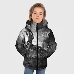 Куртка зимняя для мальчика Black Veil Brides: Faithless цвета 3D-черный — фото 2