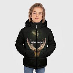 Детская зимняя куртка для мальчика с принтом Imagine Dragons: Smoke + Mirrors, цвет: 3D-черный, артикул: 10078925306063 — фото 2