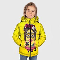 Куртка зимняя для мальчика Дамочка цвета 3D-черный — фото 2