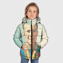 Куртка зимняя для мальчика Гагарин в орденах - фото 2