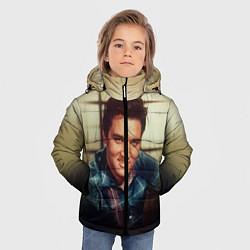 Куртка зимняя для мальчика Элвис Пресли цвета 3D-черный — фото 2