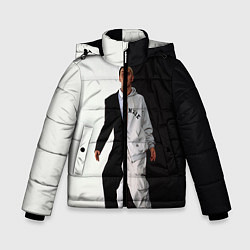 Зимняя куртка для мальчика Eminem: Black & White