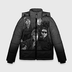 Зимняя куртка для мальчика Группа Кино