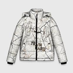 Зимняя куртка для мальчика Train hard