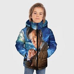Куртка зимняя для мальчика 11th Doctor Who цвета 3D-черный — фото 2