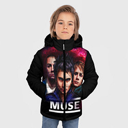 Куртка зимняя для мальчика Muse Band - фото 2