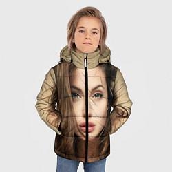 Куртка зимняя для мальчика Анжелина Джоли цвета 3D-черный — фото 2